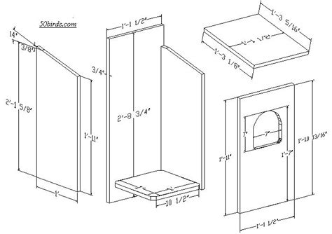 owl bird house plans best of barred owl nest box plans