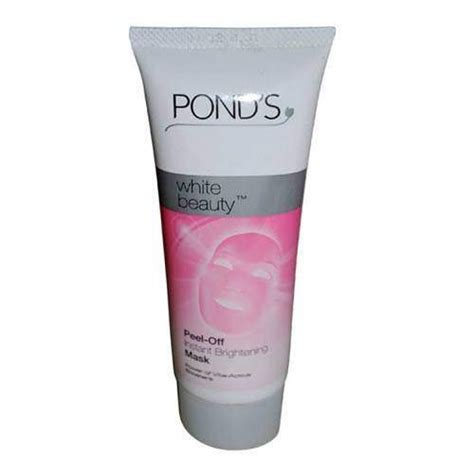 Masker Ponds pond s white peel instant brightening mask