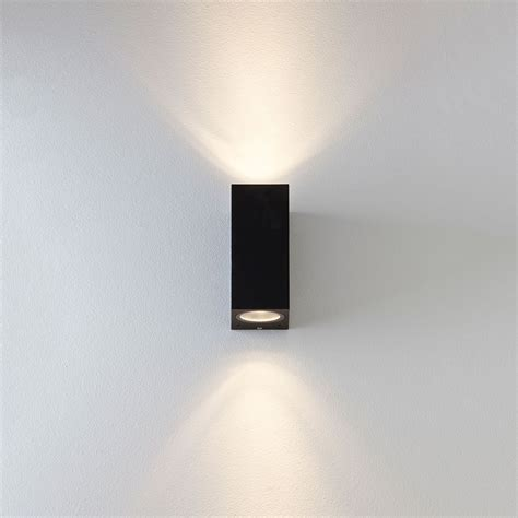 astro chios 150 black outdoor wall light at uk electrical