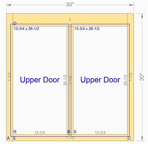kitchen cabinet face frame dimensions custom wood cabinet front face frames