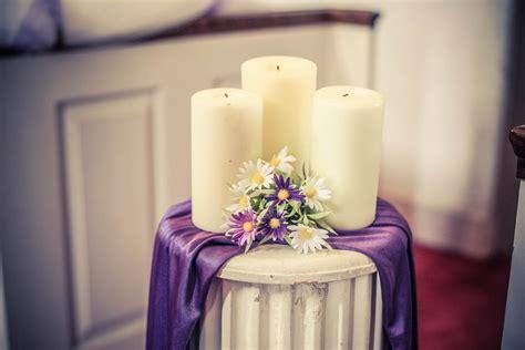 Wedding Decor Flower Candles by Free Images Purple Decoration Column Lighting Decor