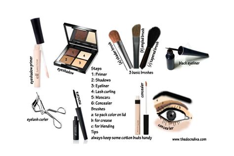 10 Steps For Makeup Look by Simple Makeup Steps For Beginners At Home Beginners