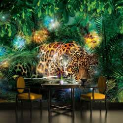 tiger king of the jungle wallpaper mural for bedrooms 2628 village green beautiful playhouse with whimsical