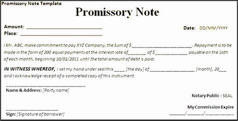 7 Promissory Note Form Template Sletemplatess Sletemplatess Promissory Note Template California