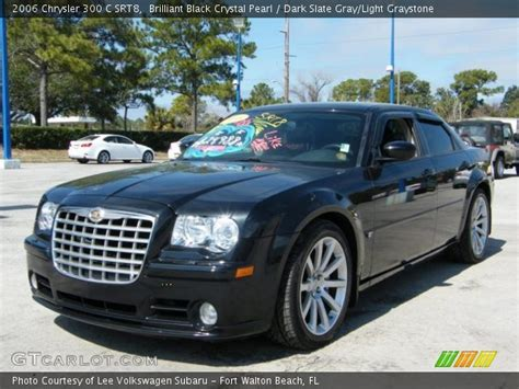 2006 Chrysler 300 Black by Brilliant Black Pearl 2006 Chrysler 300 C Srt8