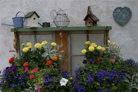 Cottage Garden Box by Window Boxes Waiting On Potting Bench Flickr Photo