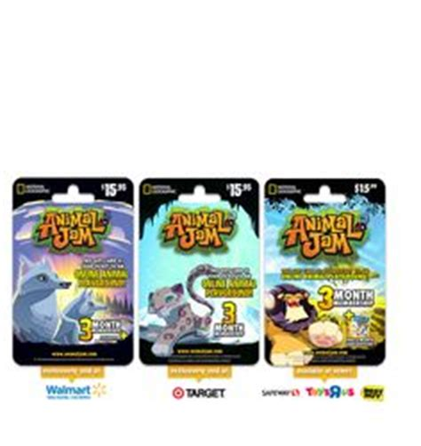 Animal Jam Gift Cards For Arctic Wolf - animal jam on pinterest animal jam gift cards and lion