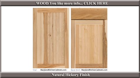 hickory kitchen cabinet doors cabinets door styles beautiful kitchen door styles 17