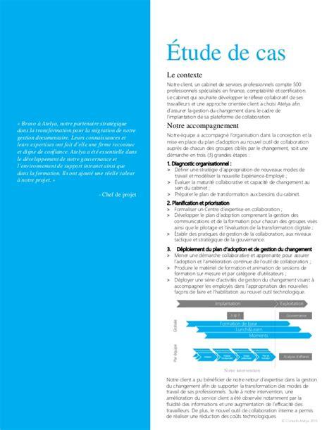Grand Cabinet Comptable by 201 Tude De Cas Atelya Sur La Modernisation De L