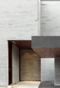 outside brick wall designs cedarvale ravine house designed by drew mandel architects