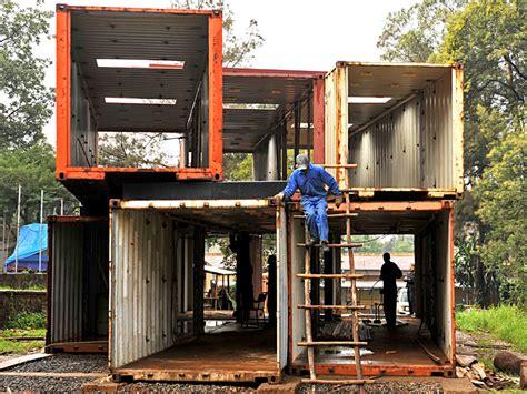bauen mit containern bauen mit containern eth unterst 252 tzt 228 thiopischen st 228 dtebau