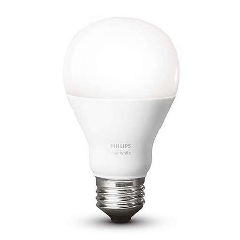 philips hue a19 single bulb warm white 455295 b amp h photo