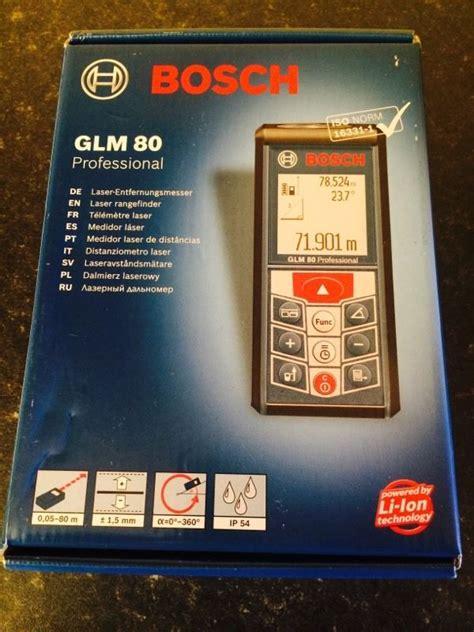 Grosir Bosch Glm 80 Laser Distance Meter jual jual meteran laser digital bosch glm 80 profesional
