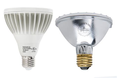 Led Flood Light Bulb Comparison Led Light Bulbs Compared To Incandescent Led Lighting