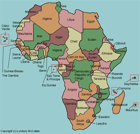 test your geography knowledge africa countries quiz