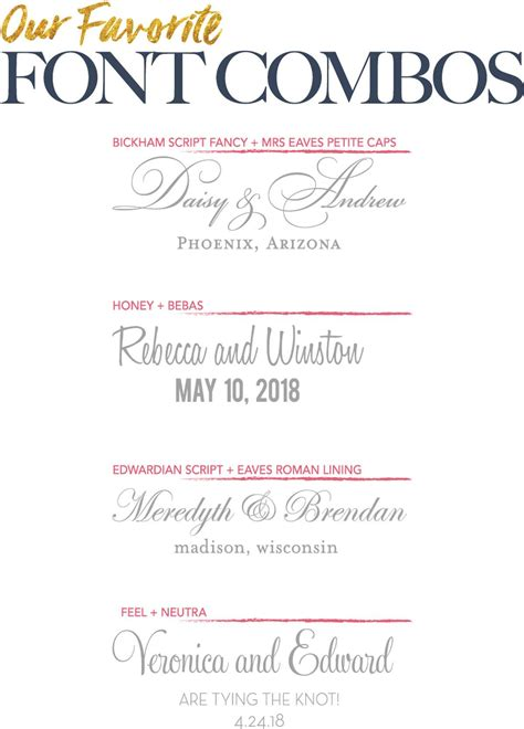 Wedding Invitation Font Combinations by Best Wedding Invitation Font Combinations Ideas