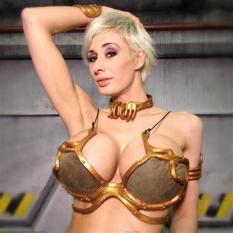 Slave Leia By Marie Claude Bourbonnais Cosplay Cleavage Pinterest Cosplay Photos And Search