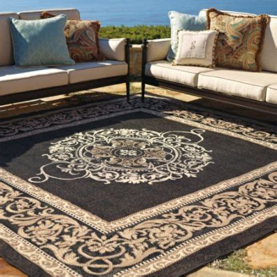Frontgate Indoor Outdoor Rugs Medallion Outdoor Rug Landscape Fabrics Pinterest