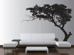 Wall tree decal forest decor vinyl sticker highly detailed removable