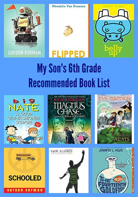 biography book list for 6th grade my son s 6th grade recommended book list pragmaticmom