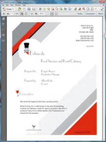 Sample business proposals food services catering sample proposal