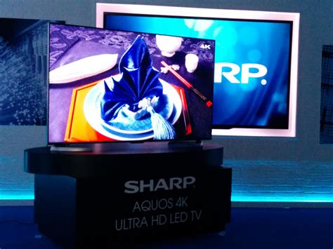 Tv Sharp Ultra Hd Sharp Shows New Ud27 Ultra Hd Tv Series Hi Res Wireless A V Device Digital Trends