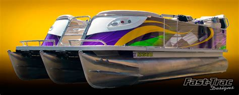 pontoon wrap designs watercraft and boat wraps in phoenix arizona by fast trac