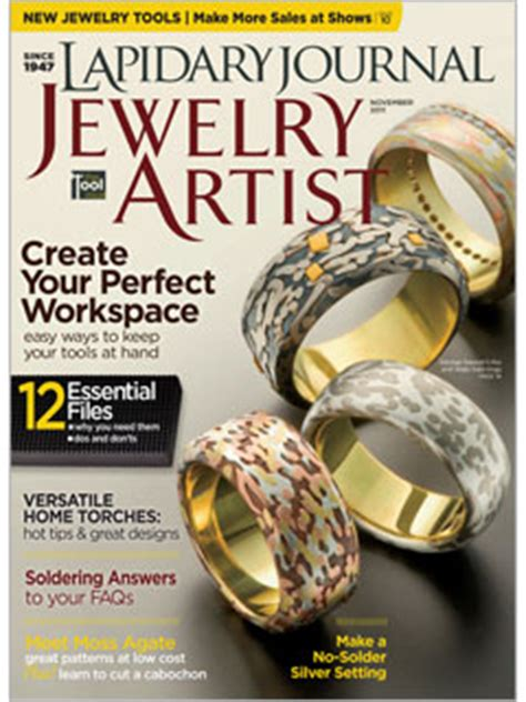 jewelry magazines free magazines of a metalsmith hammermarks