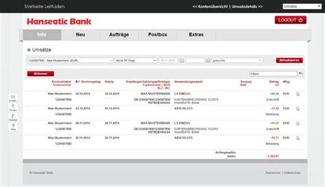 genialcard hanseatic bank hanseatic bank genialcard konditionen im test