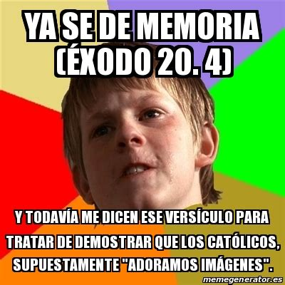 Memes Generator En Espaã Ol - meme chico malo ya se de memoria 201 xodo 20 4 y todav 205 a