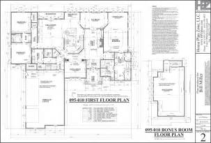 Housing Blueprints Floor Plans by The Refuge House Plans Flanagan Construction