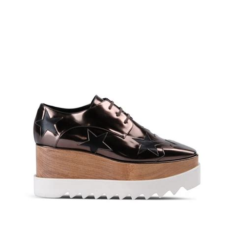 stella mccartney sneakers gunmetal elyse shoes stella mccartney