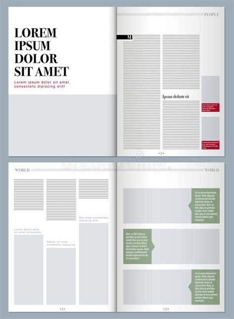 modern layout magazine europe modern design magazine stock illustration illustration of