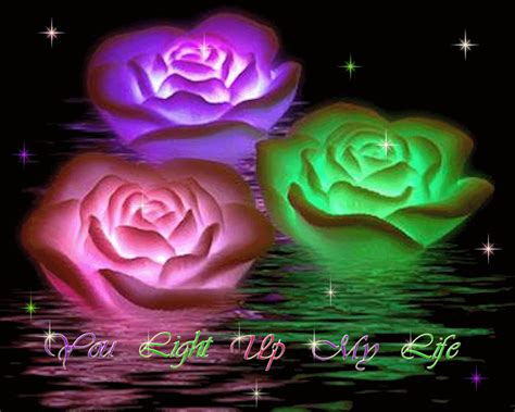 imagenes de rosas q se mueven flores