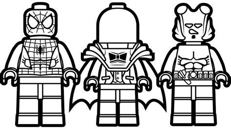 lego venom coloring page lego spiderman vs lego red hood vs lego hellboy coloring