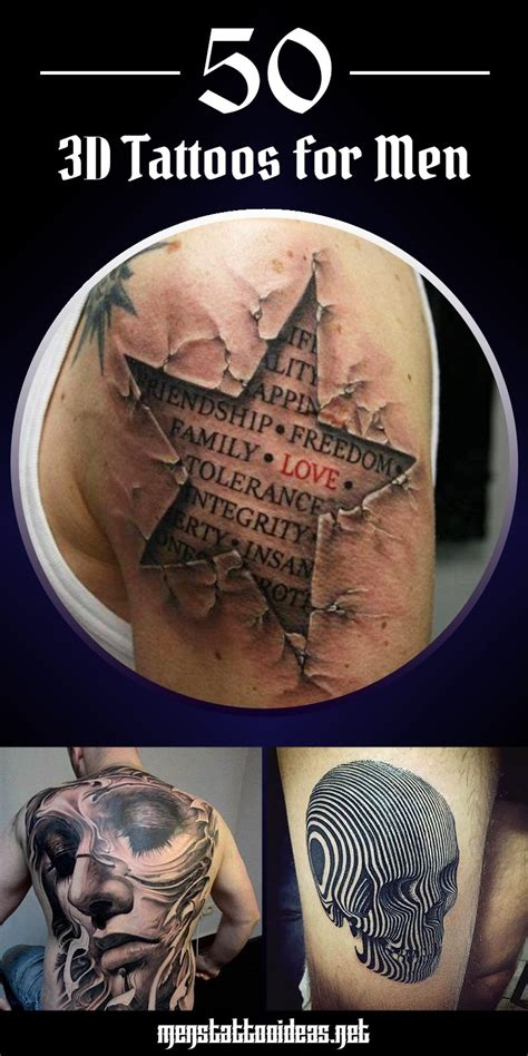 tattoos for men 3d 3d tattoos for ideas and inspiration for guys