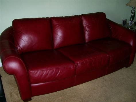 maroon leather couch couches for sale the flat decoration