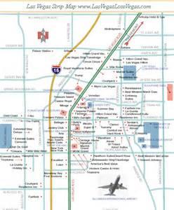 Strip Map Las Vegas by Map Las Vegas Strip America S Best Lifechangers