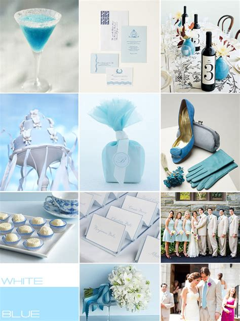 blue white wedding colour blue white wedding theme ideas wedding palettes