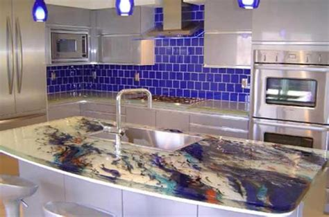 Modern Kitchen Countertop Ideas | 40 great ideas for your modern kitchen countertop material