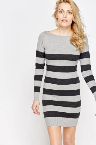 Set T Shirt Jumper Striped Dress striped jumper dress just 163 5