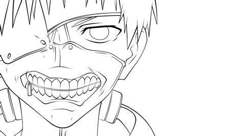Sketches 4k by Tokyo Ghoul Kaneki Lineart 4k By Baloohgn On Deviantart