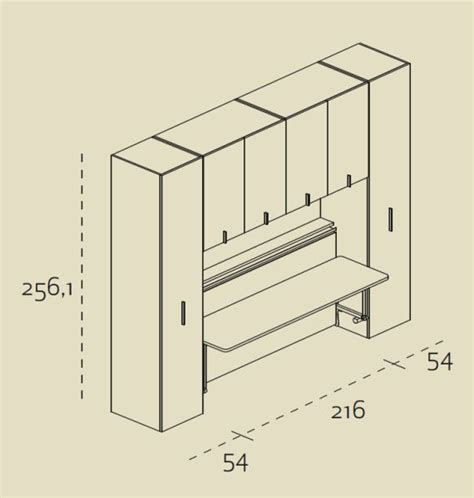 misure di un letto singolo mobile studio trasformabile mobile zona studio scrittoio