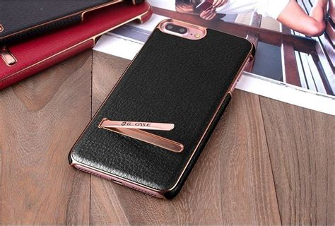 g iphone 8 g 174 apple iphone 8 plus ultra thin leather with electroplating inbuilt click metal stand