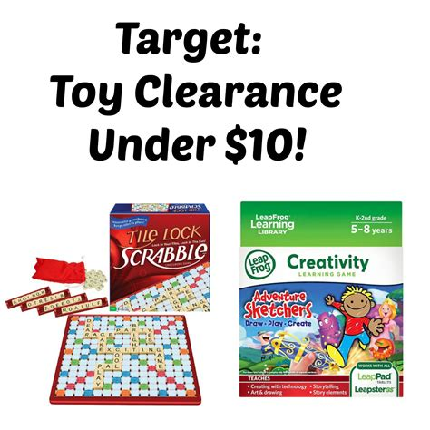toys under 10 hot target toy clearance under 10