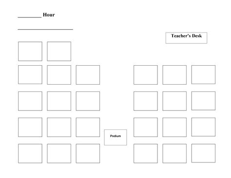Microsoft Seating Chart Template by 40 Great Seating Chart Templates Wedding Classroom More
