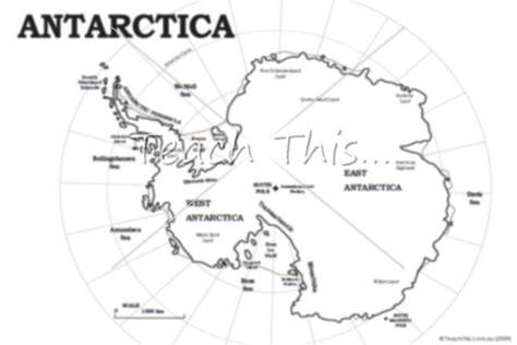 free coloring pages of map of antarctica