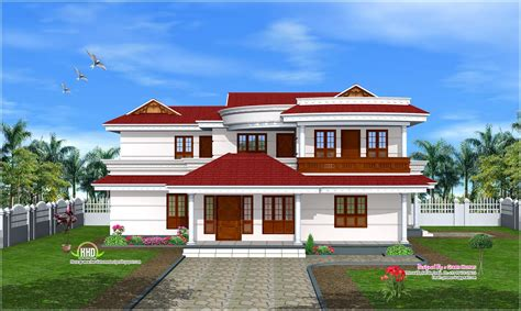 Double floor home design in 269 sq m house design plans