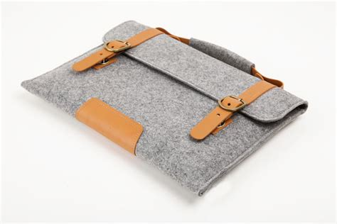 Donat Custom Macbookcase macbook pro 13 macbook sleeve brief wool felt custom made felt sleeve cover bag with