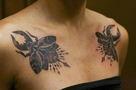 brust scrabble tattoo von adrenaline vancity